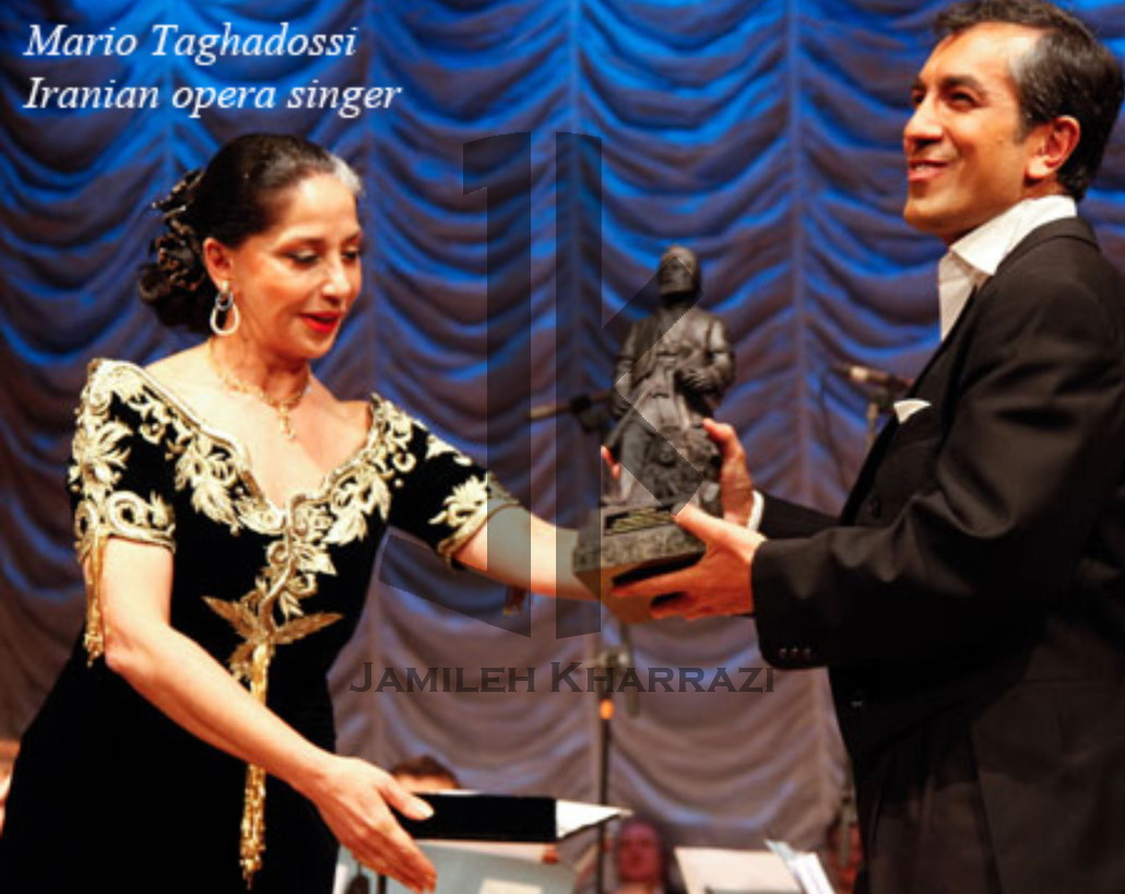 Jamileh Kharrazi and Mario Taghadossi
