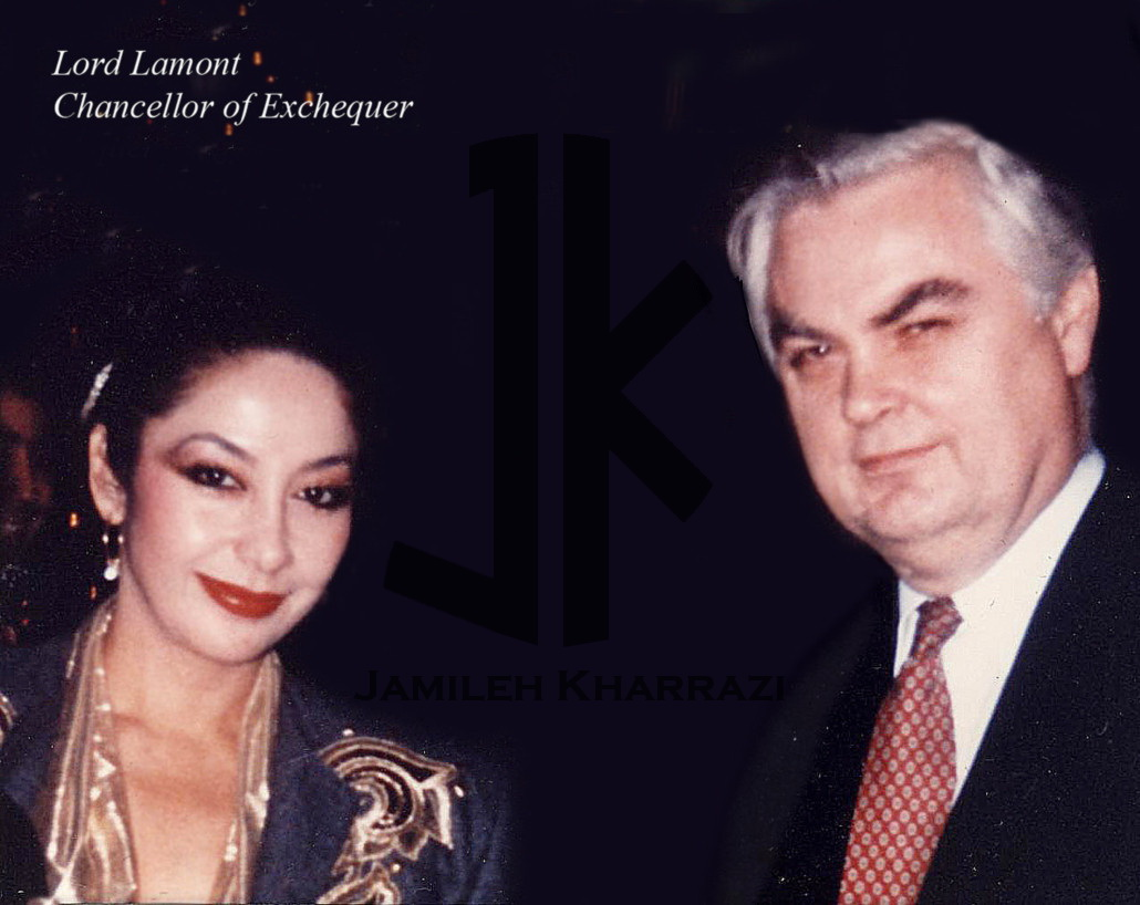 Jamileh Kharrazi and Lord Lamont