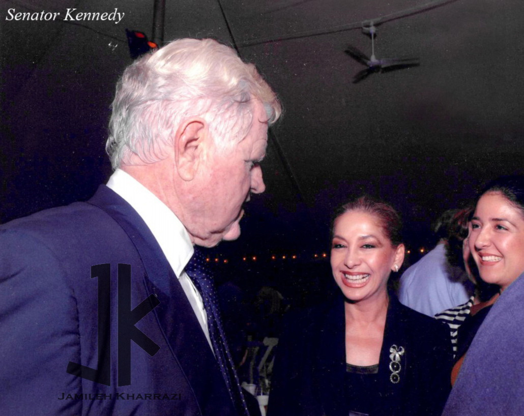 Jamileh Kharrazi and Senator Robert Kennedy
