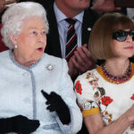 Anna Wintour and The Queen. Jamileh Kharrazi Women Advocate