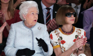 Anna Wintour and The Queen. Jamileh Kharrazi Women Advocate