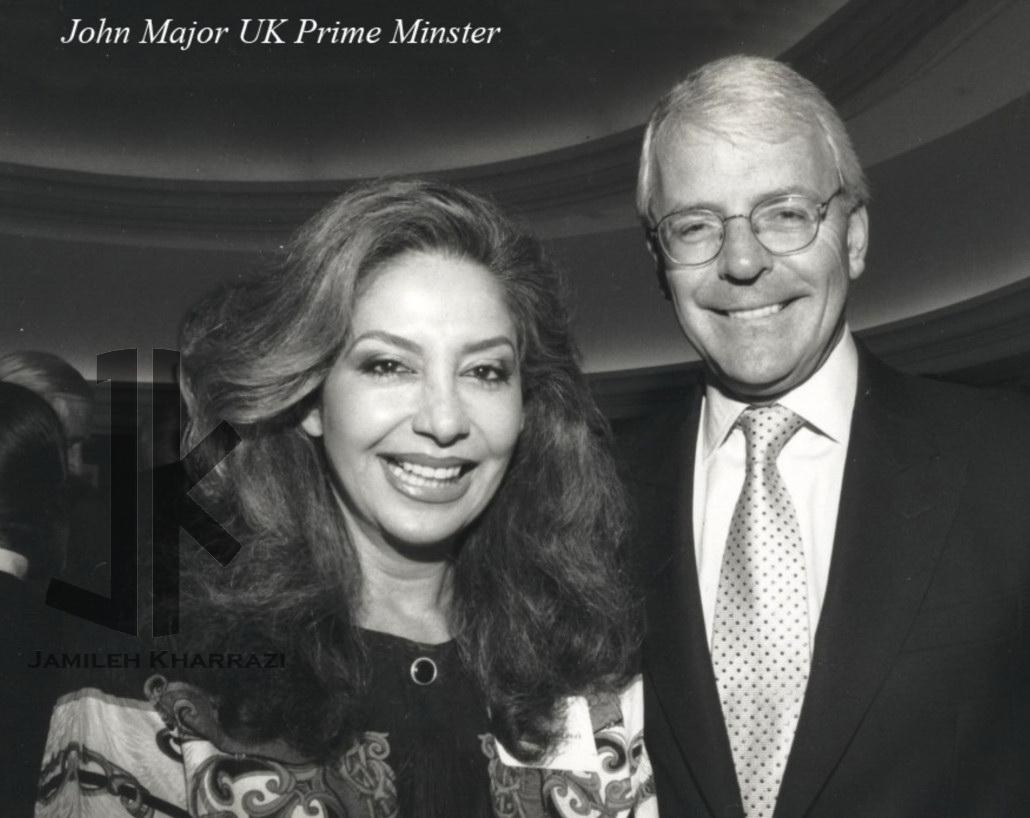 جمیله خرازی و نخست وزیر انگلستان